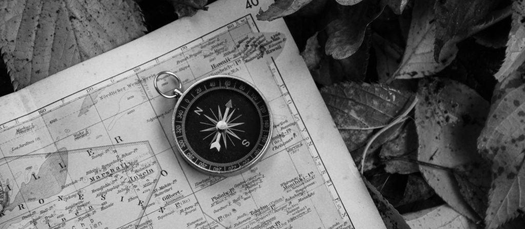 Kompas, kort, kunderejse, b2b salg, b2b markedsføring
