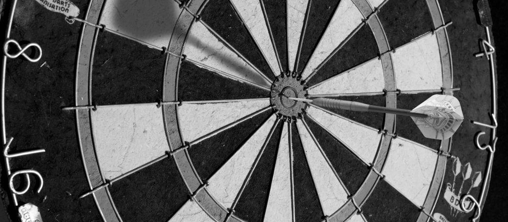 Target, bulls eye, lead generation, b2b leadgenerering