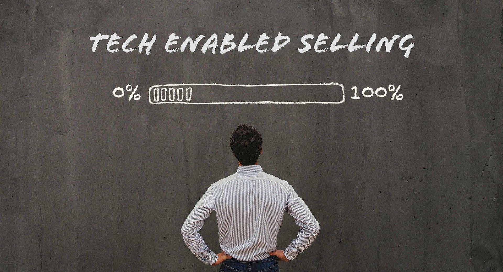 Digital transformation, tech enabled selling, technology, b2b salg, b2b sales, process